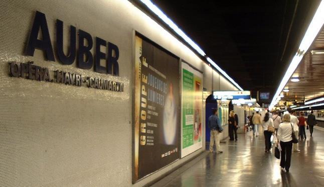 Gare Auber RER A