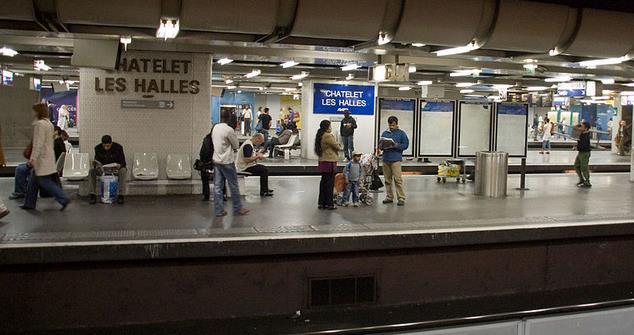 Gare Châtelet-les-Halles RER