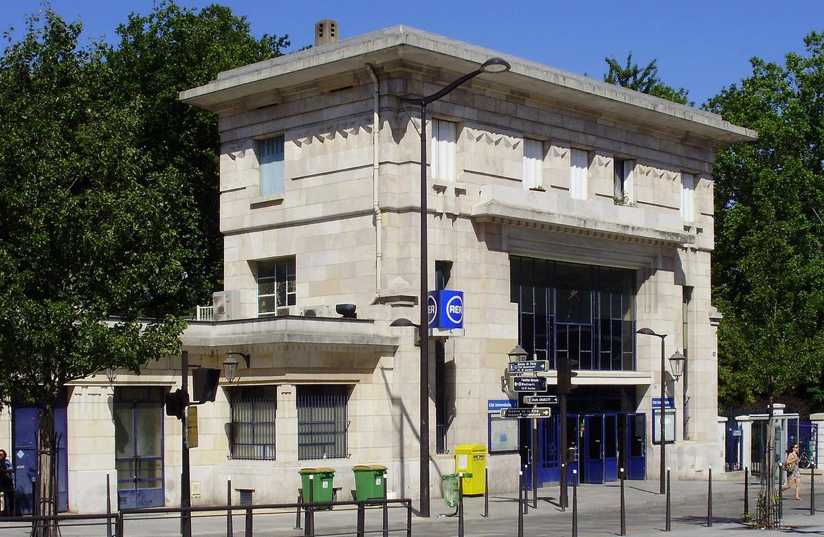 Gare Cité Universitaire RER B