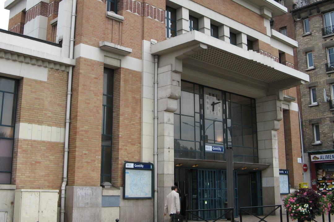 Gare Gentilly RER B