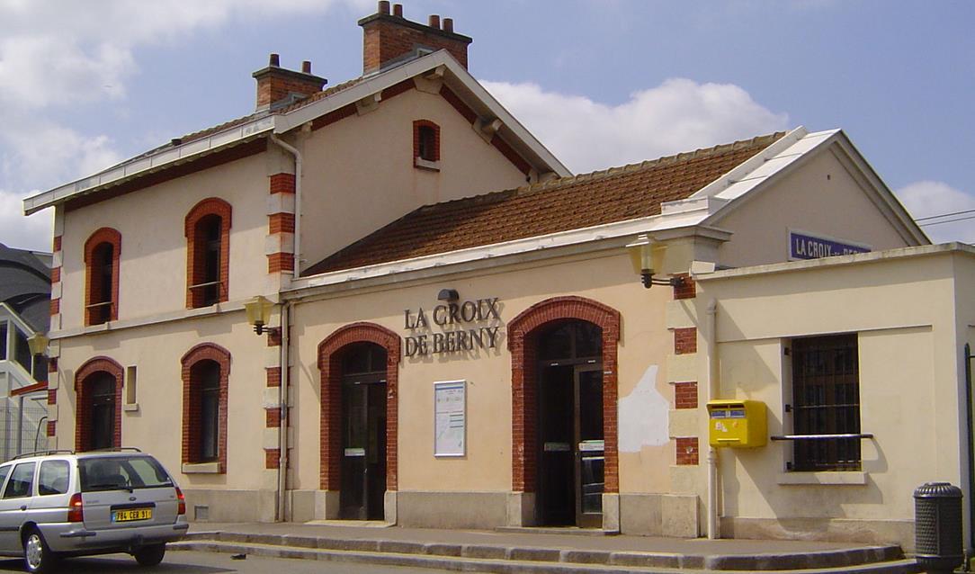 Gare La Croix de Berny RER B