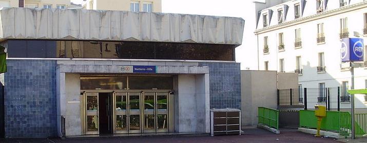 Gare De Nanterre Ville Rer A