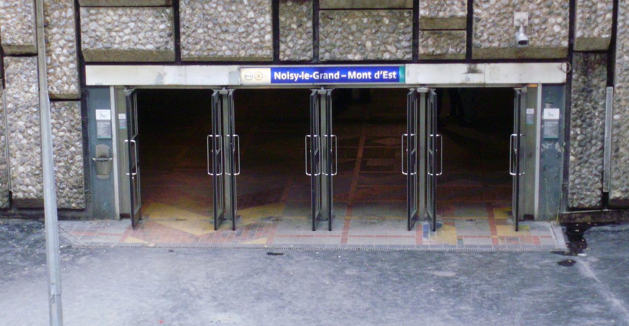 Gare Noisy le Grand Mont d'Est RER A