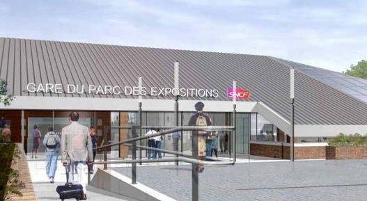 Gare Parc des Expositions RER B