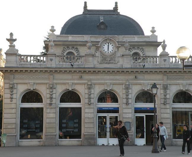 Gare Avenue Foch RER C