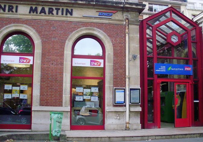 Gare Avenue Henri Martin RER C