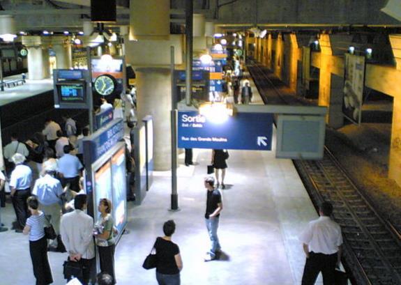 Gare Bibliothèque François-Mitterrand RER C