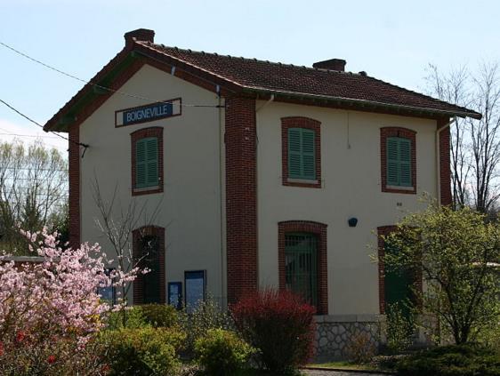 Gare Boigneville RER D