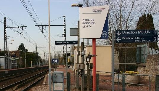 Gare Boissise le Roi RER D