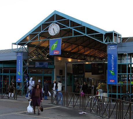 Gare Bondy RER E