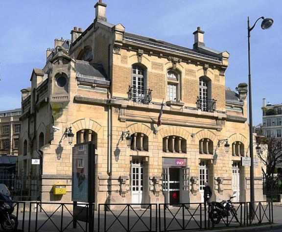 Gare Boulainvilliers RER C