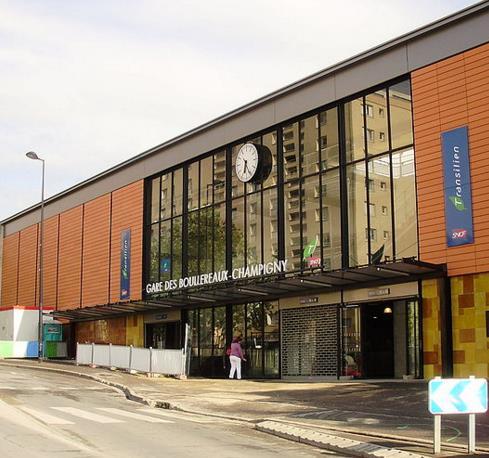 Gare Les Boullereaux - Champigny RER E