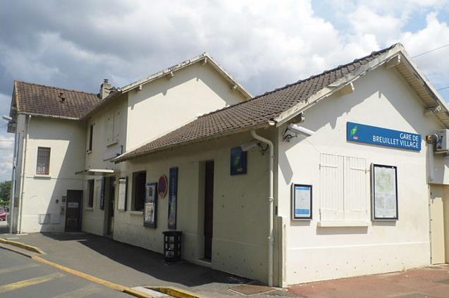 Gare Breuillet Village RER C
