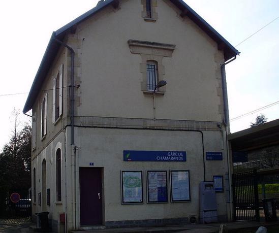 Gare Chamarande RER C
