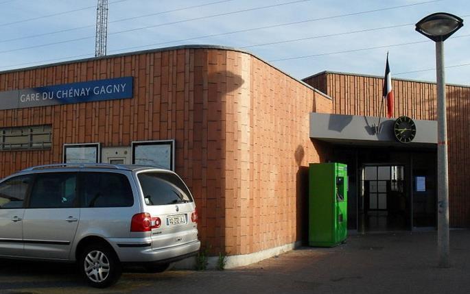 Gare Le Chénay - Gagny RER E