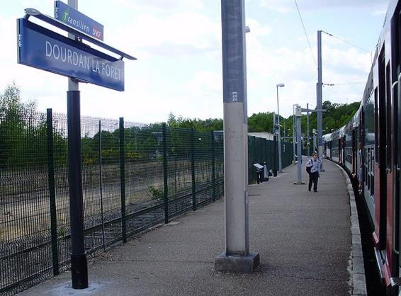 Gare Dourdan-la-Forêt RER C