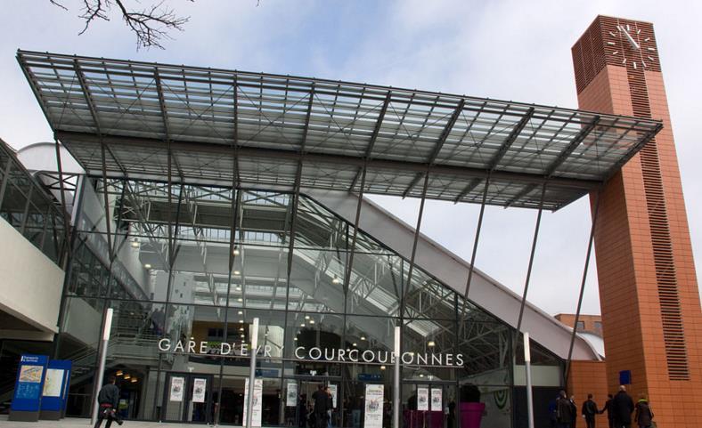 Gare Evry - Courcouronnes-centre RER D