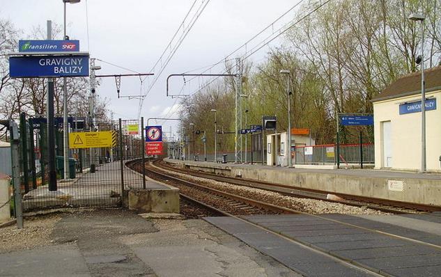 Gare Gravigny-Balizy RER C