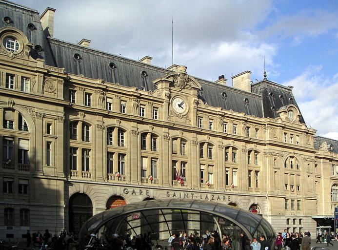 Gare Haussmann - Saint Lazare RER E
