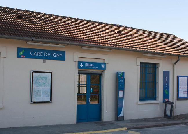 Gare Igny RER C