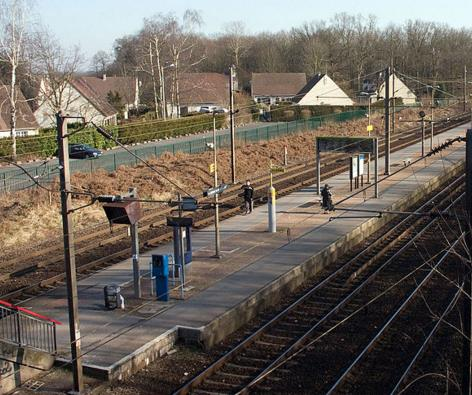 Gare La Borne Blanche RER D
