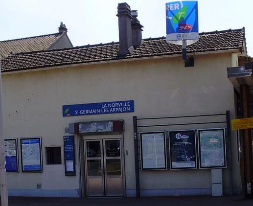 Gare La Norville - Saint Germain Lès Arpajon RER C
