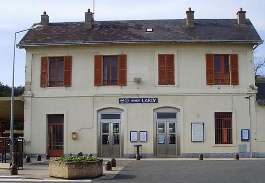 Gare Lardy RER C