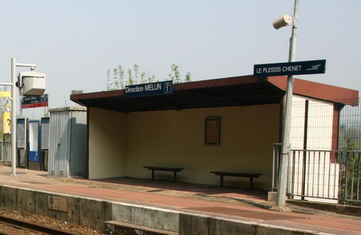 Gare Le Plessis-Chenet RER D
