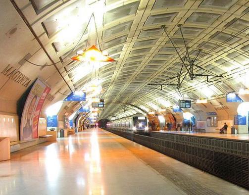 Gare Magenta RER E