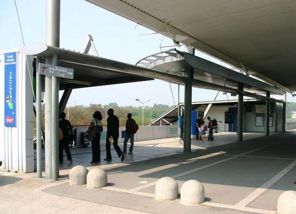 Gare Orangis Bois de l'Epine RER D