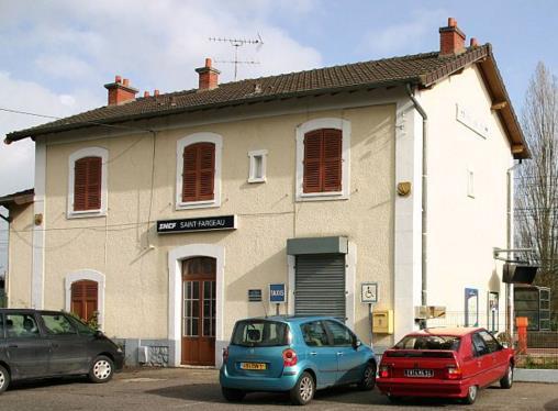 Gare Saint-Fargeau RER D