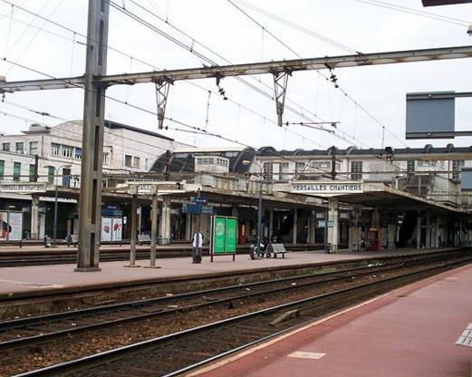 Gare Versailles-Chantiers RER C