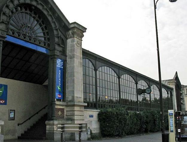 Gare Versailles Château-rive-gauche RER C