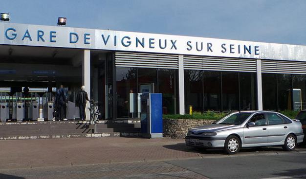 Gare Vigneux-sur-Seine RER D
