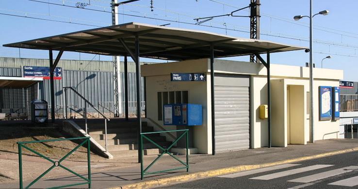 Gare Villabé RER D