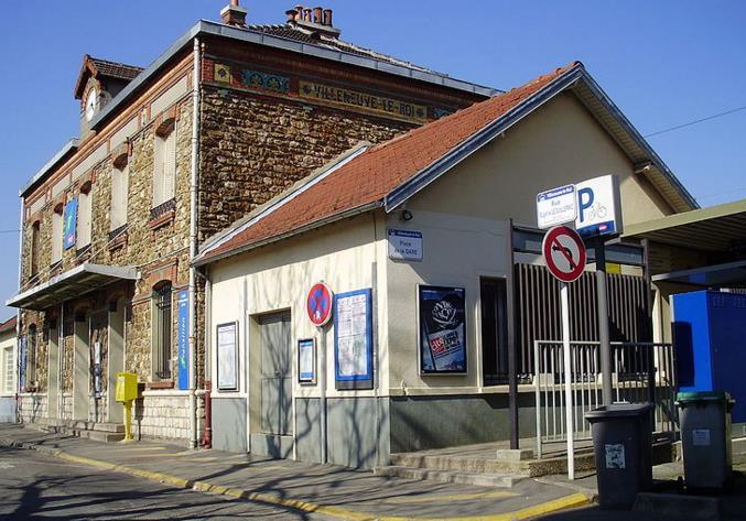 Gare Villeneuve-le-Roi RER C
