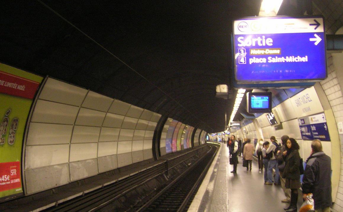 gare Saint-Michel Notre Dame RER B