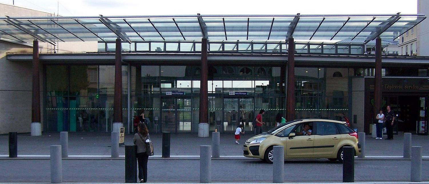 Gare Val d'Europe RER A