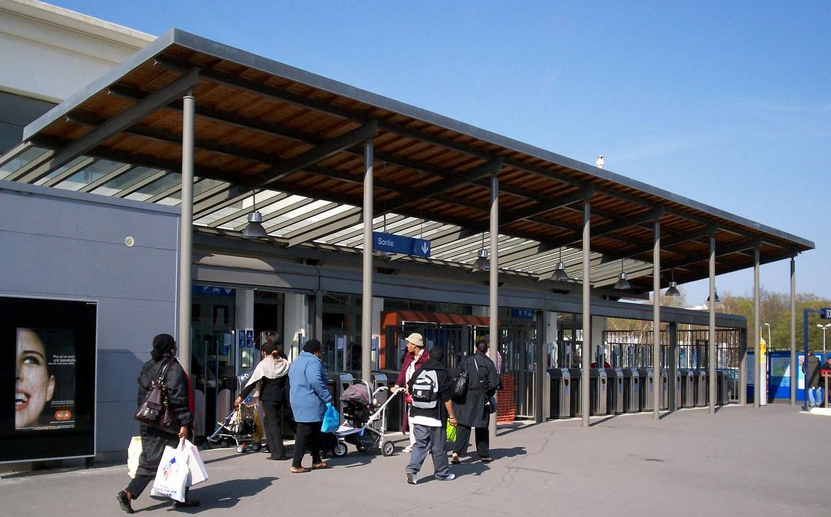Gare Vert-Galant RER B